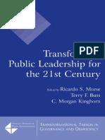 Transforming Public Leadership
