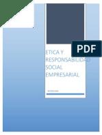 Etica y Responsabilidad Social Empresarial
