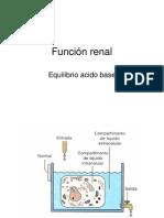 12.- Función Renal, Equilibrio Ácido-base