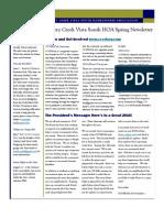 2010 HOA Newsletter