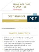 Cost Behavior