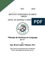 Manejo de Arhivos en Lenguaje C++