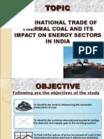 Dissertation_International Trade of Coal