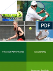 Miami Beach Tennis Management LLC Report