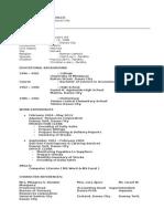 Resume of ELP