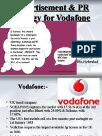 Ad-campaign & PR strategy for Vodafone