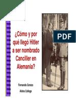 Acceso Hitler Poder