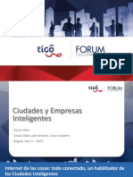 Ciudades y Empresas Inteligentes_Darren Ware_TUF Colombia 2015