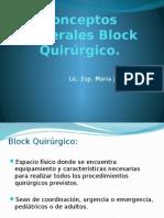 Conceptos Generales de Block Quirúrgico