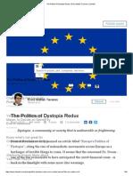 Europe - The Politics of Dystopia Redux