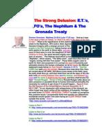 Strong Delusion E.T.'s, Aliens, UFO's, Nephilum, Grenada Treaty