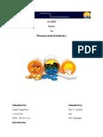 ERM Report - Pharmaceutical