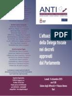 L'attuazione della Delega fiscale nei decreti approvati dal Parlamento