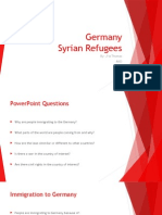 germany  syrian refugees