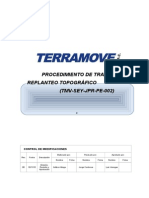 TMV SEY JPR PE 002 Trazo y Replanteo Topográfico