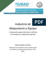 Análisis Sectoriales Maquinas Herramienta