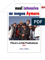 Manual Intensivo de La Lengua Aymra Félix Layme