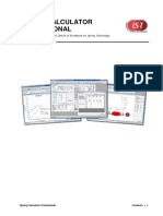 Spring Calculator Professional Manual