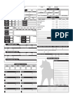 Familiar Companion Sheet
