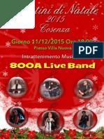 Locandina 800A 800A 2015 Mercatini di Natale 2015