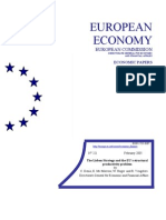 THE LISBON STRATEGY AND THE EU'S STRUCTURAL PRODUCTIVITY PROBLEM