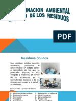 1. Contaminacion Ambiental ,Manejo de Los Residuos II