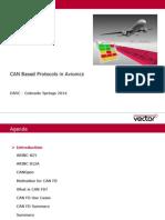 CAN Based Protocols in Avionics MustRead
