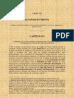 Historia Del Romanismo Libro VII El Concilio de Trento Borrador 1Parte