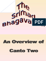 Overview of Second Canto