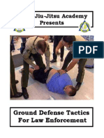Basic Law Enforcement Ground Techniques