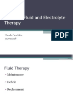 Pediatric Fluid and Electrolyte Therapy