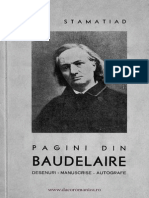 Pagini Din Baudelaire