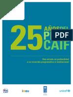 25 años del Plan CAIF