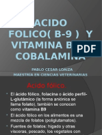 ACIDO FOLICO(B9) Y VITAMINA B-12 COBALAMINA.pptx