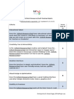 osman gulle etp resource review rubric