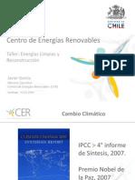 1 Presentacion CER Taller Energías Limpias y Reconstrucción
