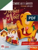 Feeries Programme Web