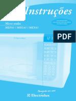 Microondas Electrolux MEF41