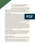 Unidad Curricular Tecnologías de La Información y La Comunicación II