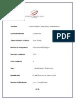 Planeamiento Estrategico Proceso de Planificacion