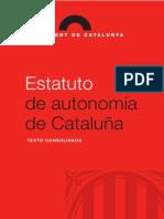 Estatuto de Cataluña