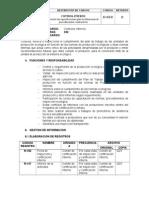 Descricion de Cargos Ci D- 010