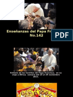 Enseñanzas del Papa Francisco - Nº 142.pps
