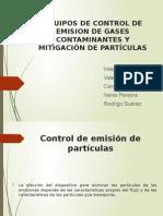 Control de Contaminacion Atmosférica