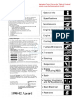 honda crv 97 00 service manual airbag transmission mechanics