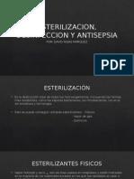 Esterilizacion, Desinfeccion y Antisepsia