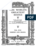 The World's Greatest Books — Volume 17 — Poetry and Drama by Various