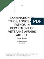 ethos pathos and logos paper