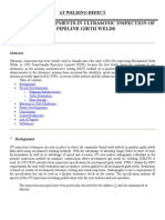 Further Developments in Ultrasonic Inspection of Pipeline Gi
