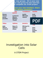 solar cell introduction slides  no video